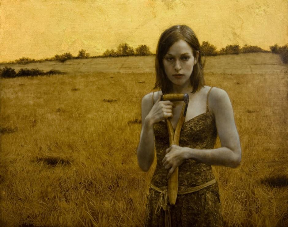 Brad-Kunkle-Paintings-Her Own Field