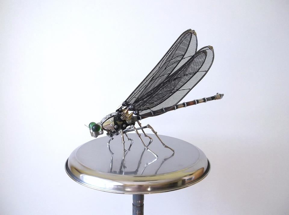 Igor Verniy Steampunk-animal-insect-sculpture 24596