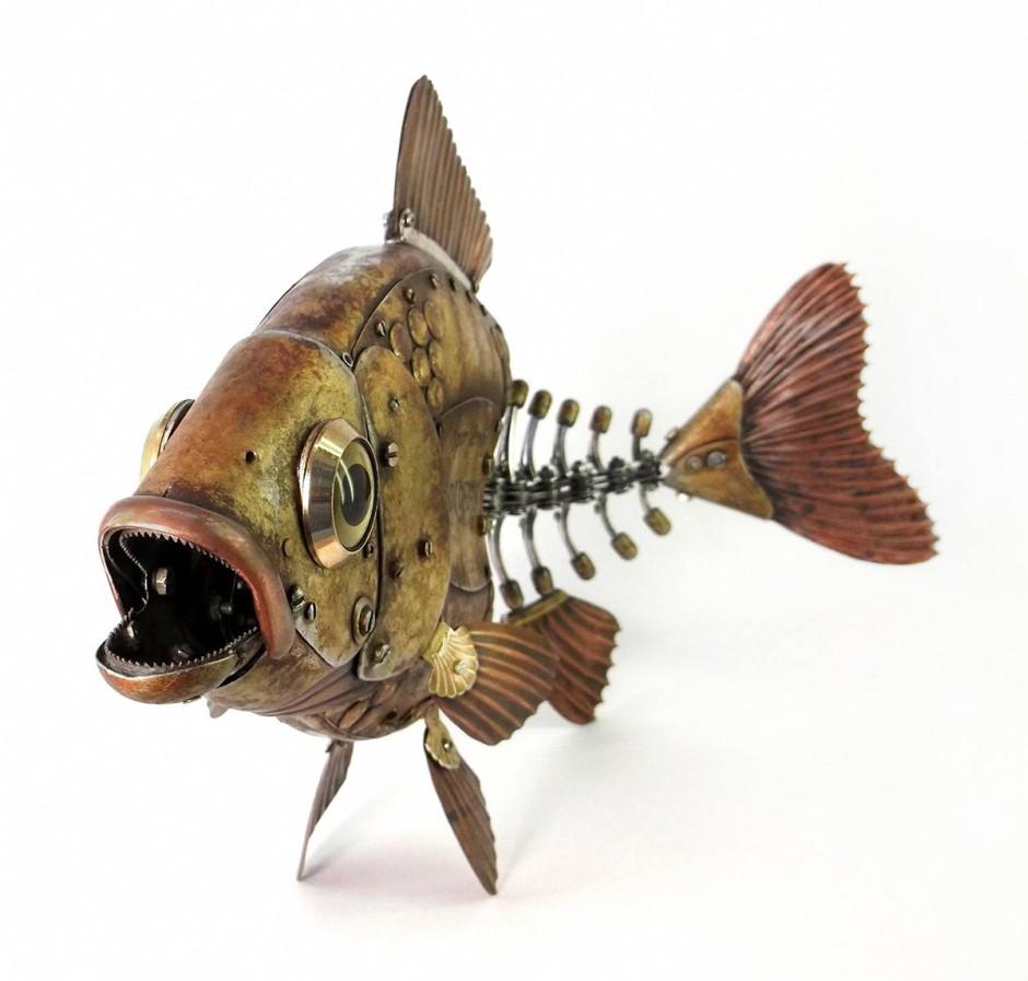Igor Verniy Steampunk-animal-insect-sculpture 487569