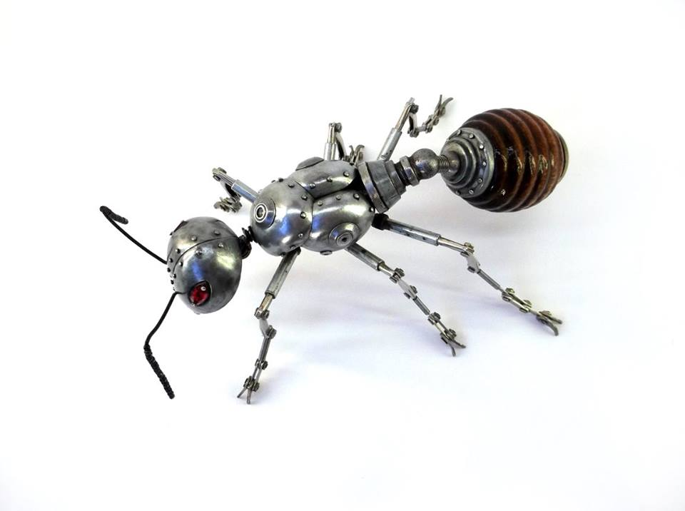 Igor Verniy Steampunk-animal-insect-sculpture 87219