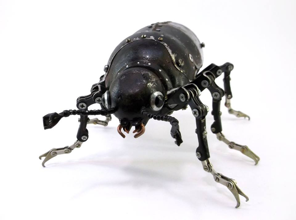 Igor Verniy Steampunk-animal-insect-sculpture 89361-123