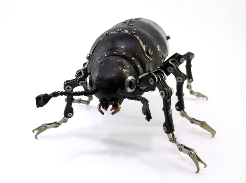 Igor Verniy Steampunk-animal-insect-sculpture 89361-123