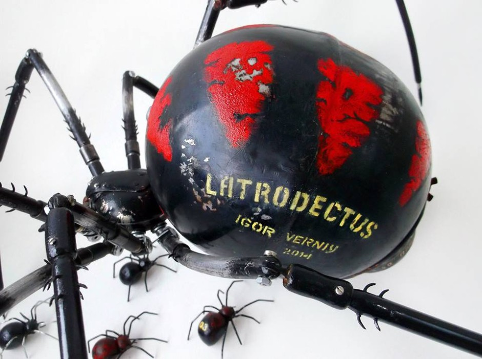 Igor Verniy Steampunk-animal-insect-sculpture 9685-123