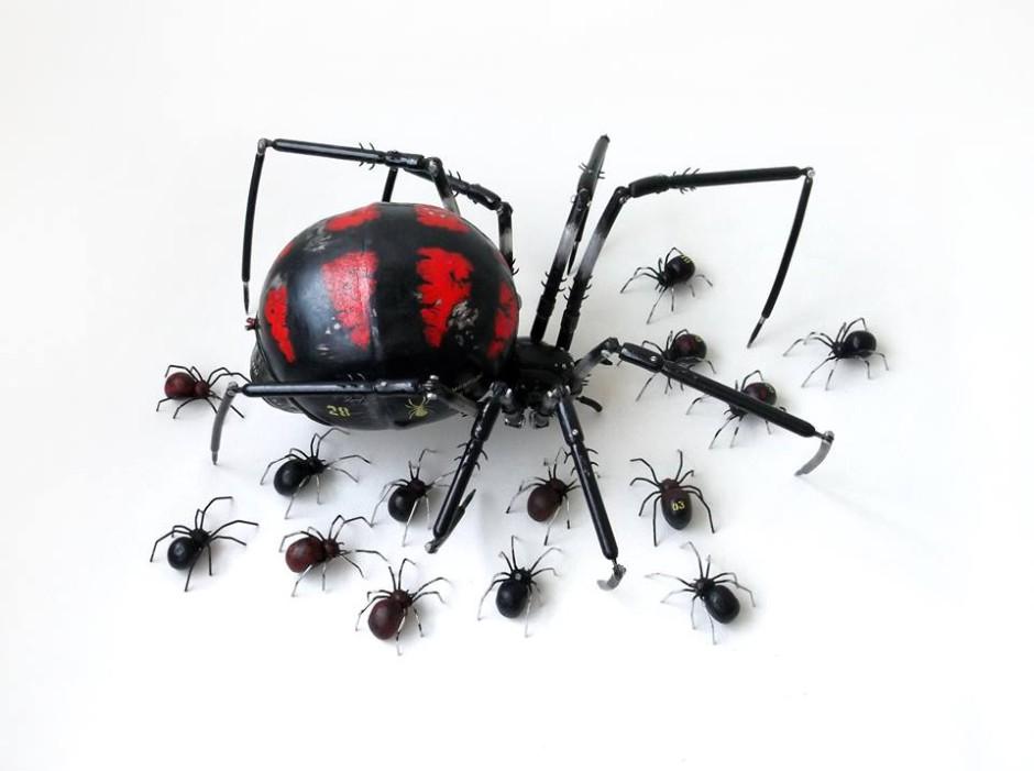 Igor Verniy Steampunk-animal-insect-sculpture 9685