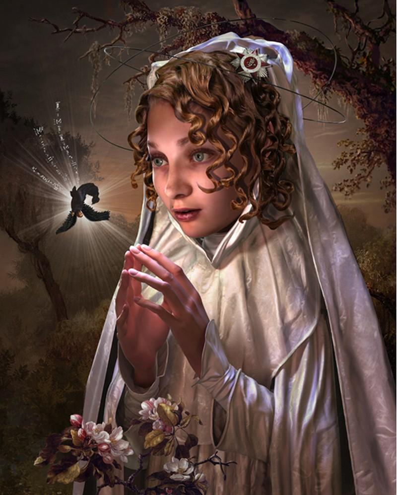 John Brophy-Paintings-little_black_angel