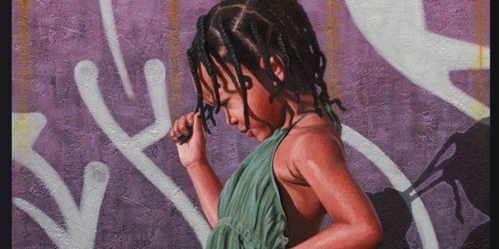 Kevin Peterson Paintings Braids Web