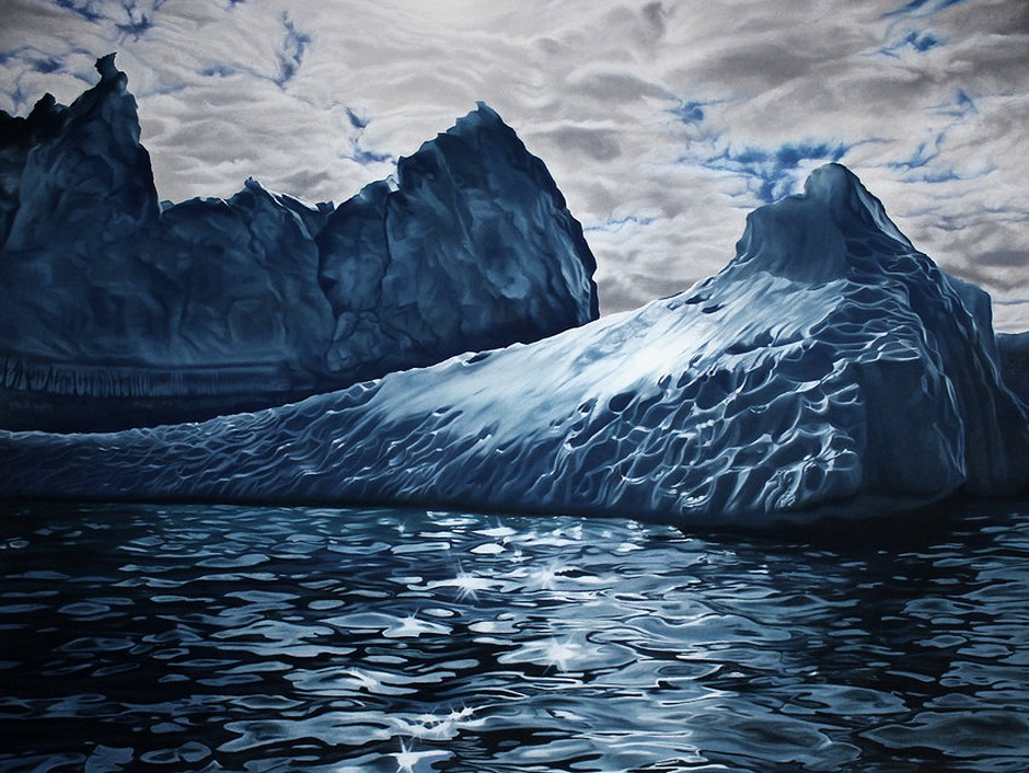 Zaria-Forman-greenland-iceberg-pastel-drawing 25986