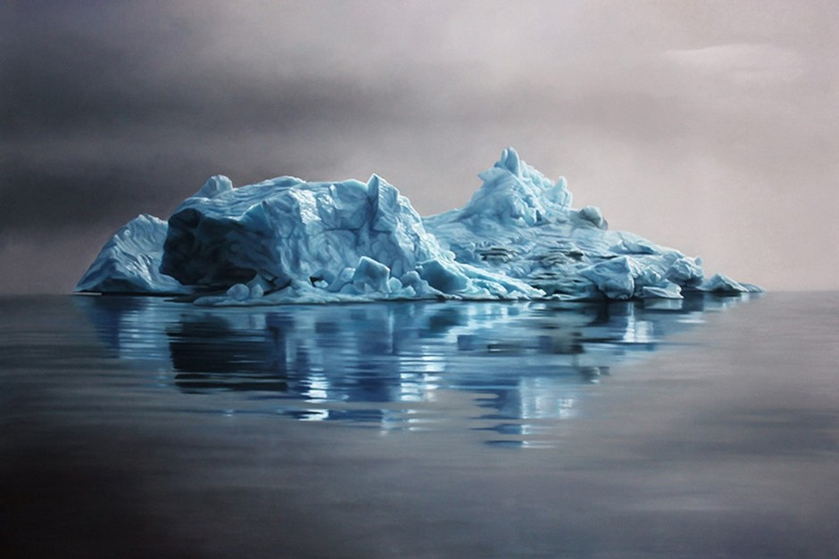 Zaria-Forman-greenland-iceberg-pastel-drawing 42586