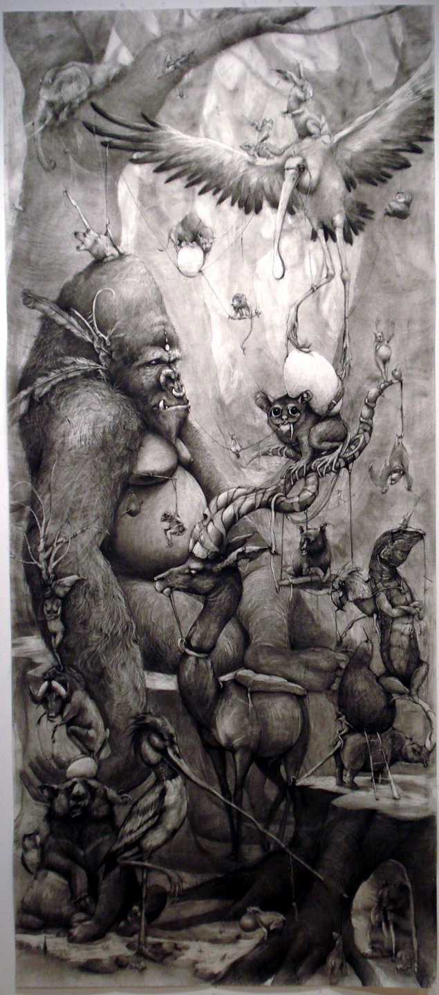 Adonna Khare Drawings Forrest Gorilla Feature