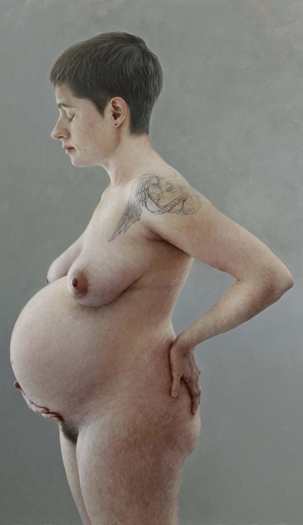 Aleah Chapin Oil Paintings Pregnant Woman Feature