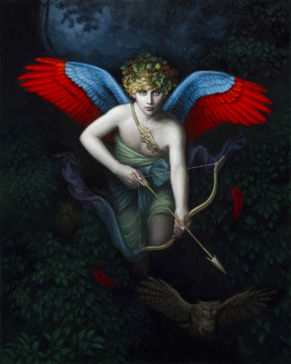 Chie Yoshii-Paintings-Amor Fati