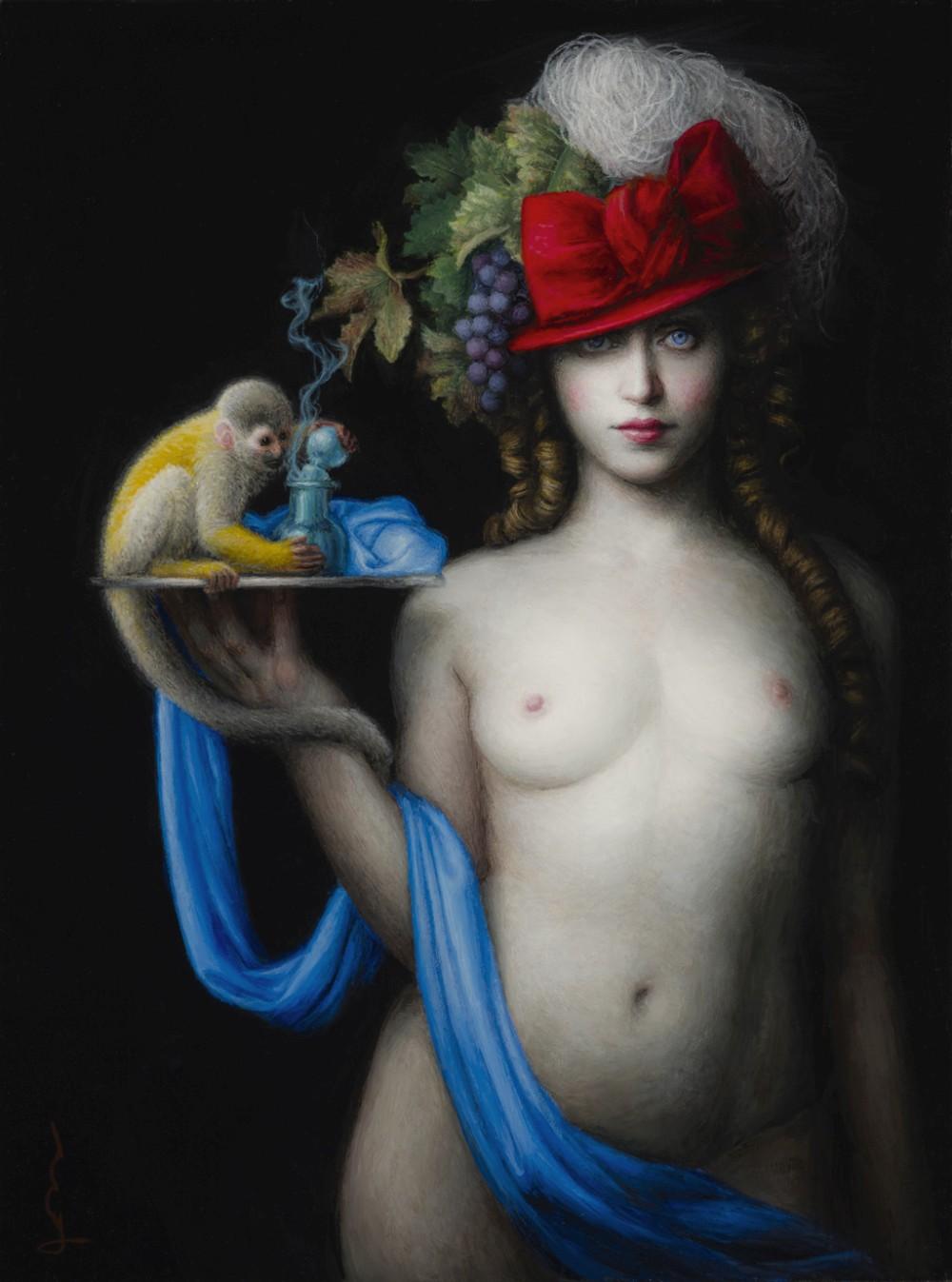 Chie Yoshii-Paintings-Bacchus