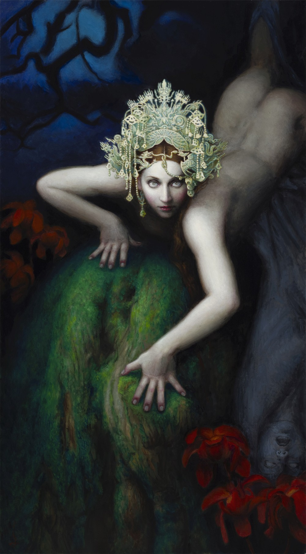 Chie Yoshii Paintings Ecdysis