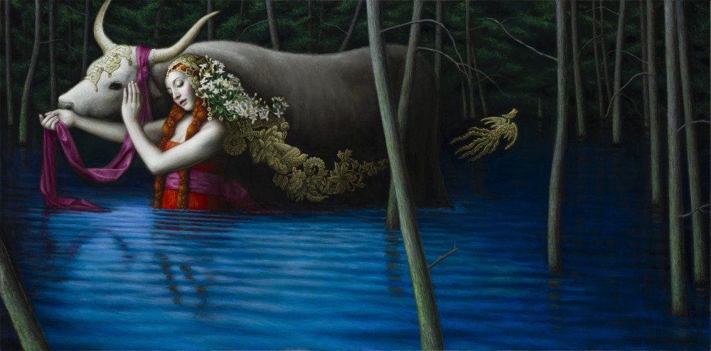 Chie Yoshii-Paintings-Emancipation
