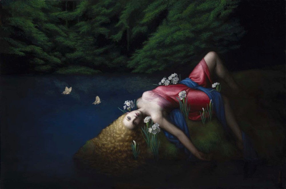 Chie Yoshii-Paintings-Narcissus