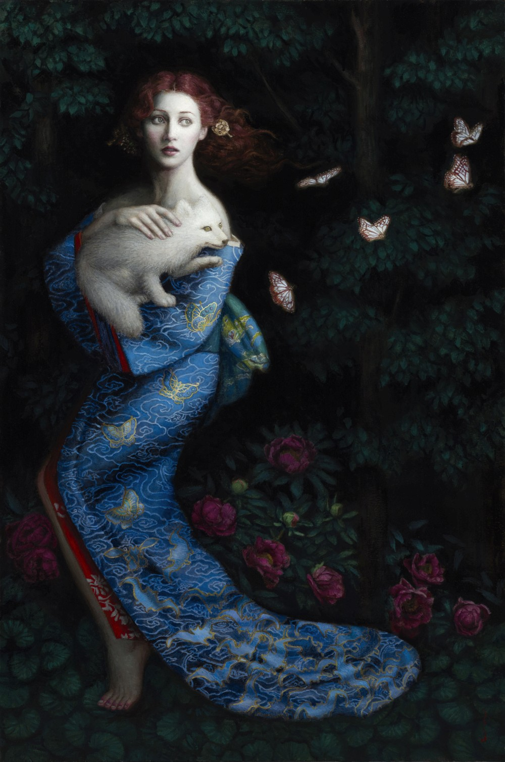 Chie Yoshii-Paintings-Transience