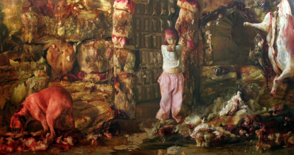 Guillermo Lorca-Paintings-children-369586