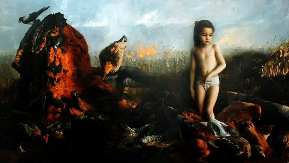 Guillermo Lorca-Paintings-children-419856