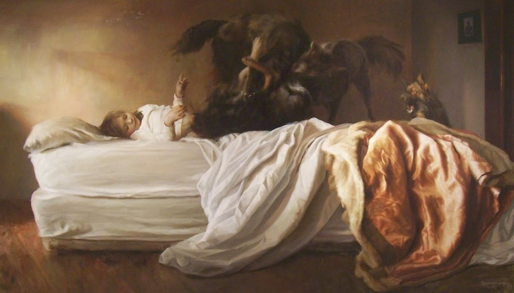 Guillermo Lorca-Paintings-children-78426