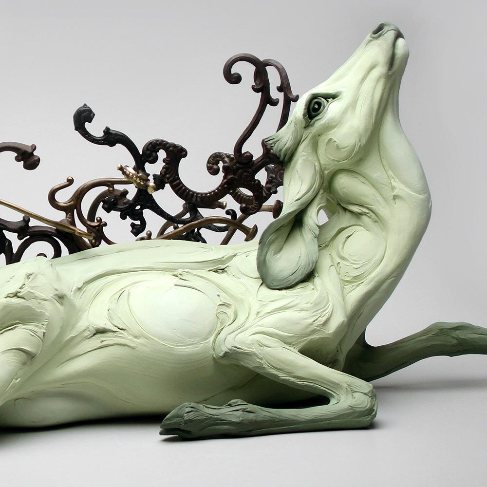 Beth Cavener Sculpture-obariyon-1123-details