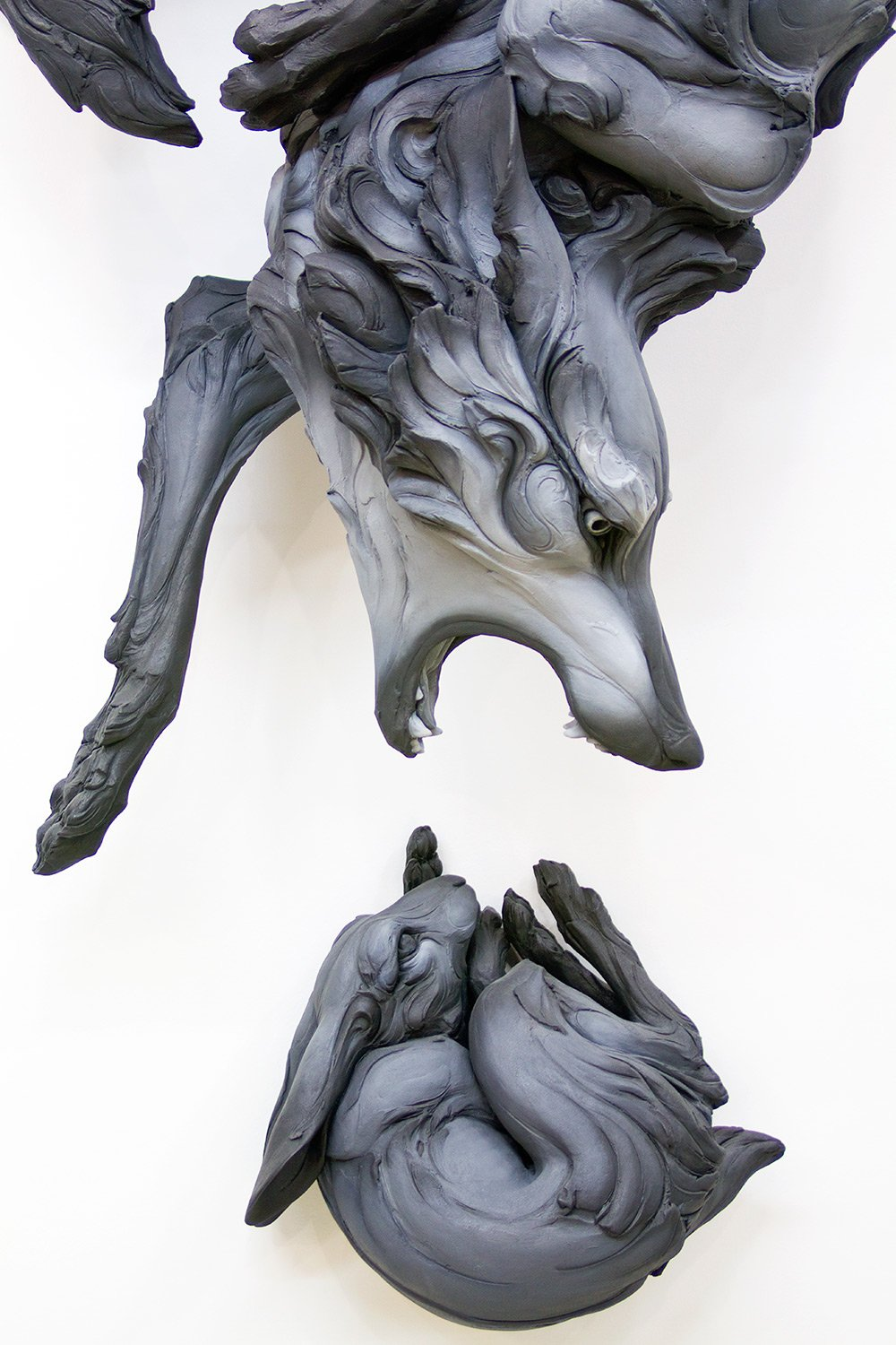 Beth Cavener Sculpture-question
