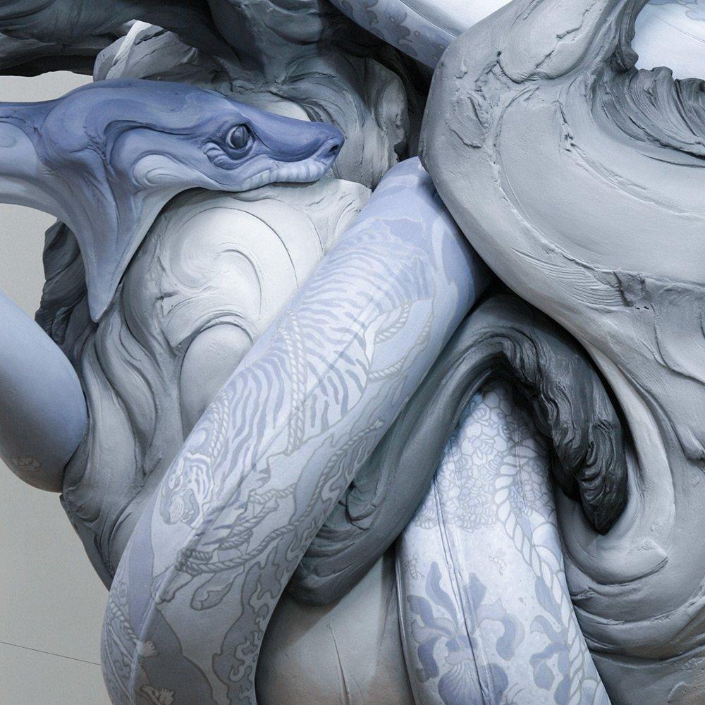Beth Cavener Sculpture- tangled-2365-1-details