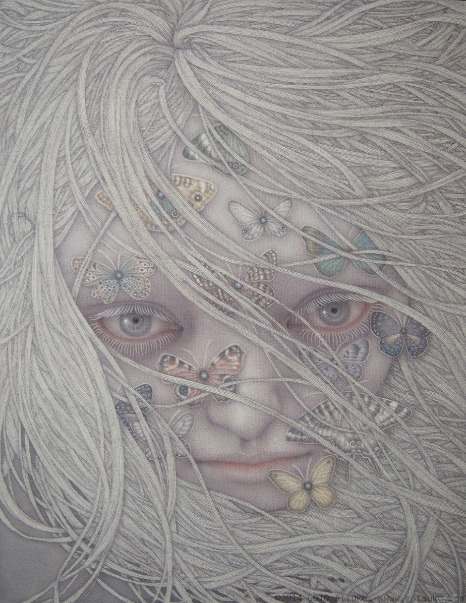 GOTO Atsuko-Drawings-Frolic
