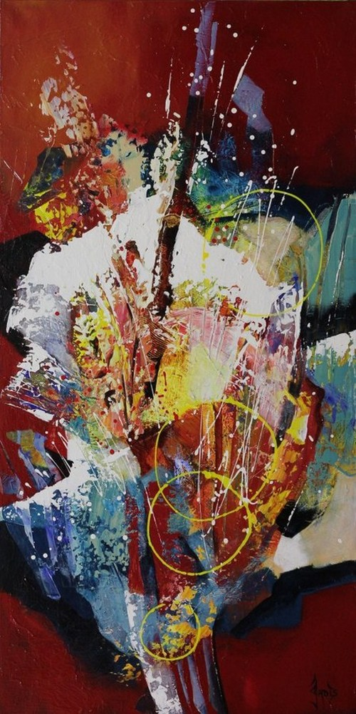 Jadis Abstract Paintings Feature