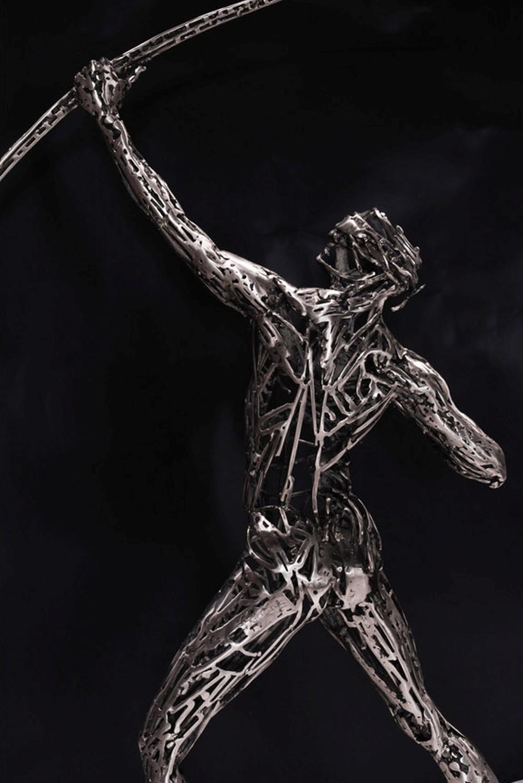 Human Steel Scrap Sculptures By Jordi Diez Fernandez