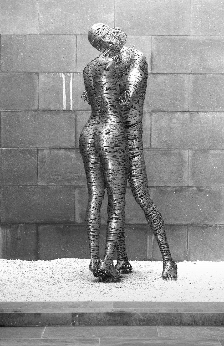 Jordi Diez Fernandez -Steel Sculptures 7846