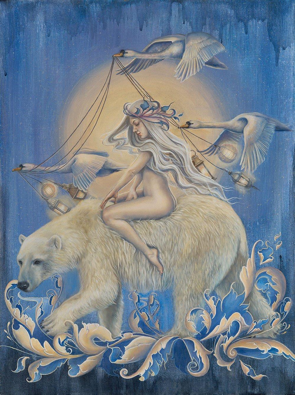 Kari Lise Alexander-Paintings-Amid-Wild-Woods-45963