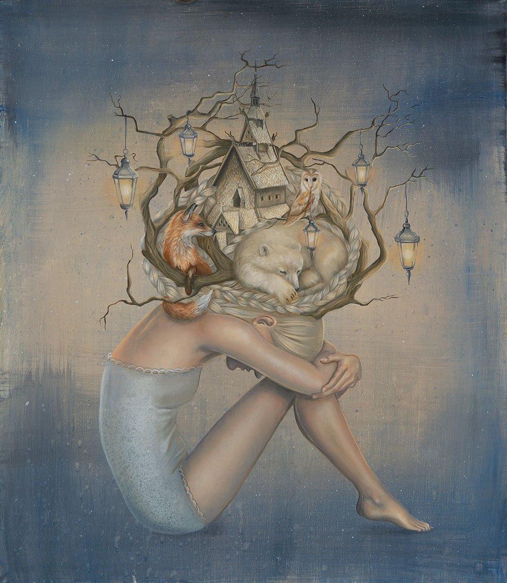 Kari Lise Alexander-Paintings-Amid-Wild-Woods-98531