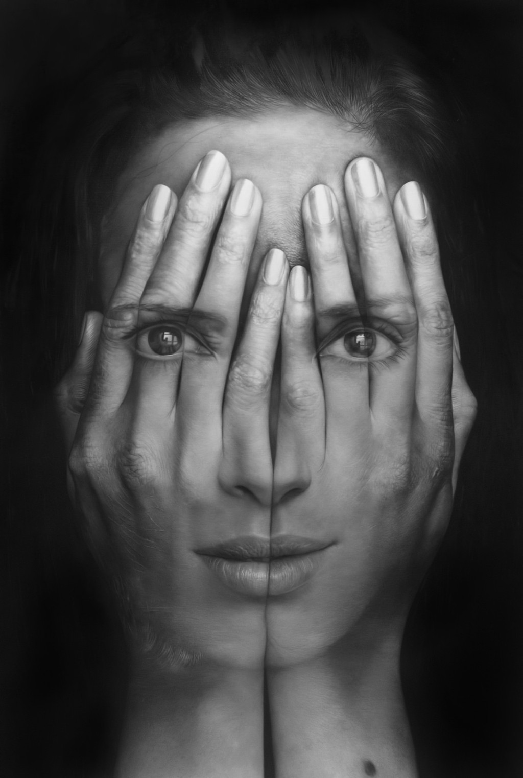 Tigran Tsitoghdzyan-Oil-Paintings-Mirror 11
