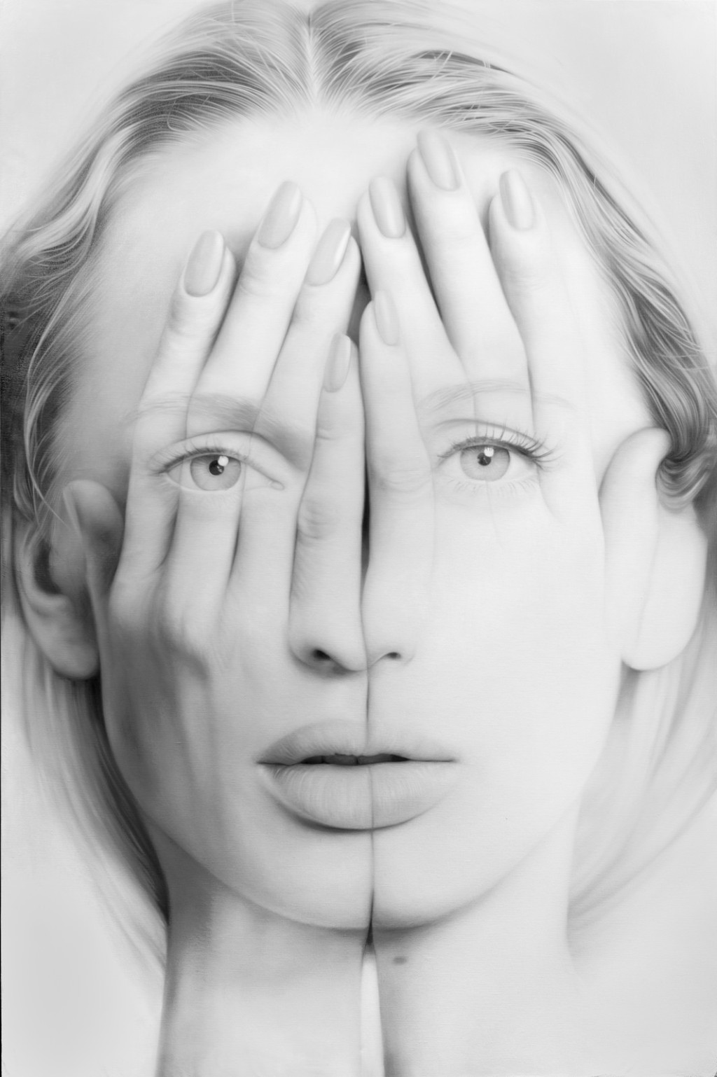 Tigran Tsitoghdzyan-Oil-Paintings-White Mirror