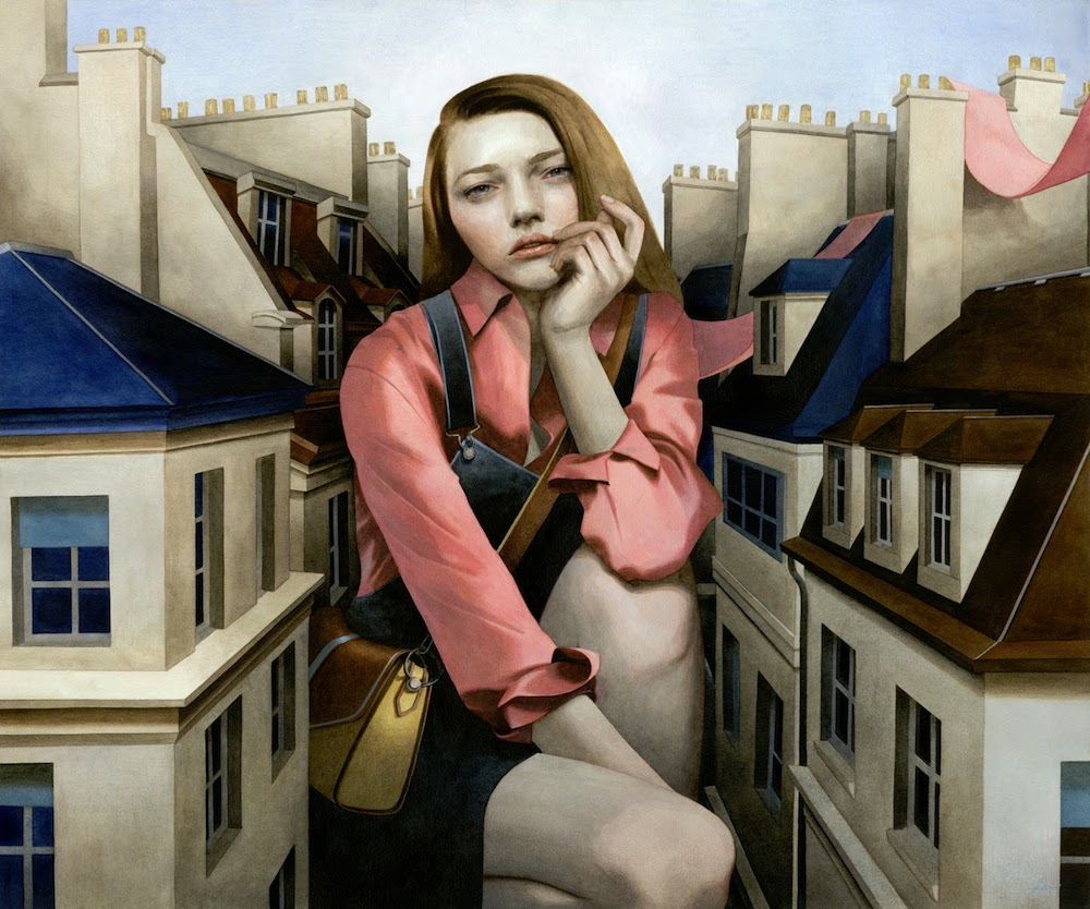 Tran Nguyen Paintings-A-Sentimental-Swallow