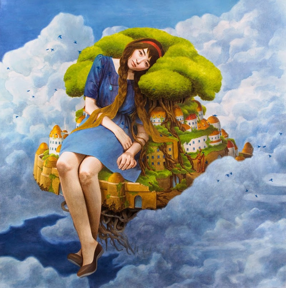 Tran Nguyen Paintings-Laputa-photo