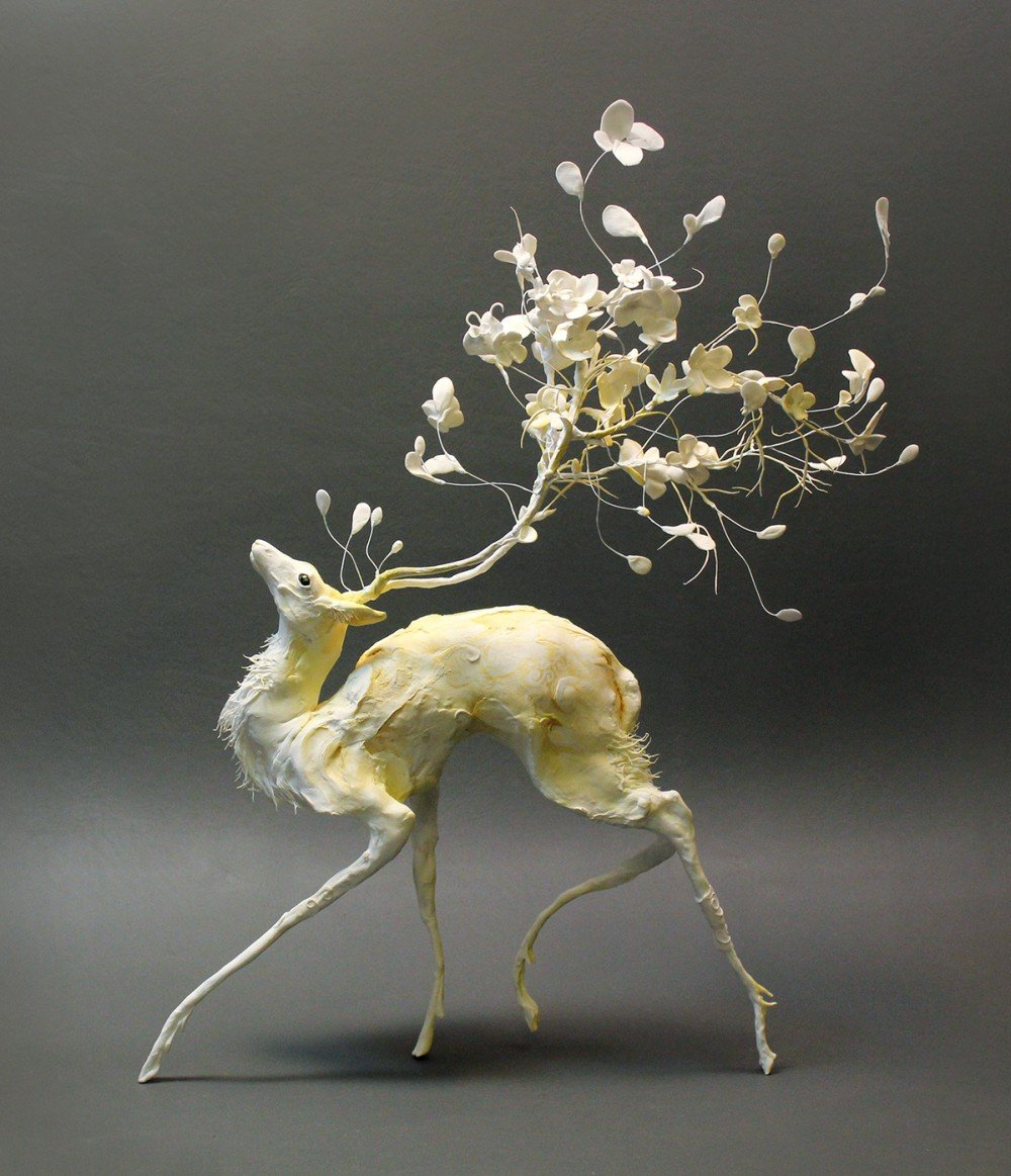 Ellen Jewett animal plant sculpture 2345