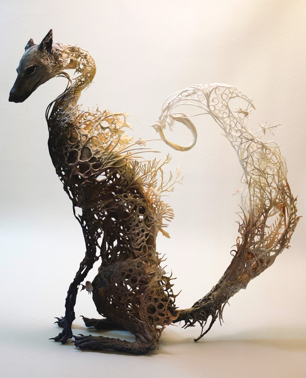 Ellen Jewett Animal Plant Sculpture 7856
