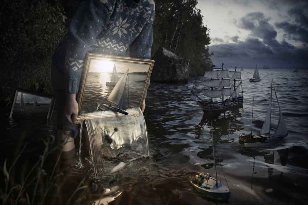 Erik Johansson surreal photography set-them-free