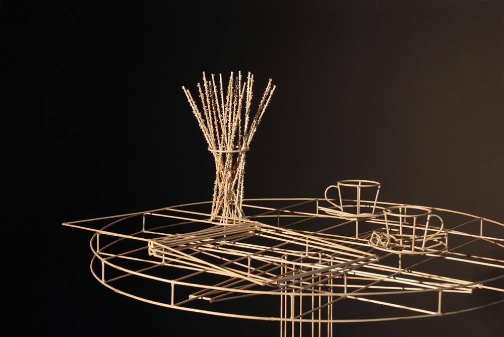 Janusz Grünspek Drawings Wood Sculptures Space 41962