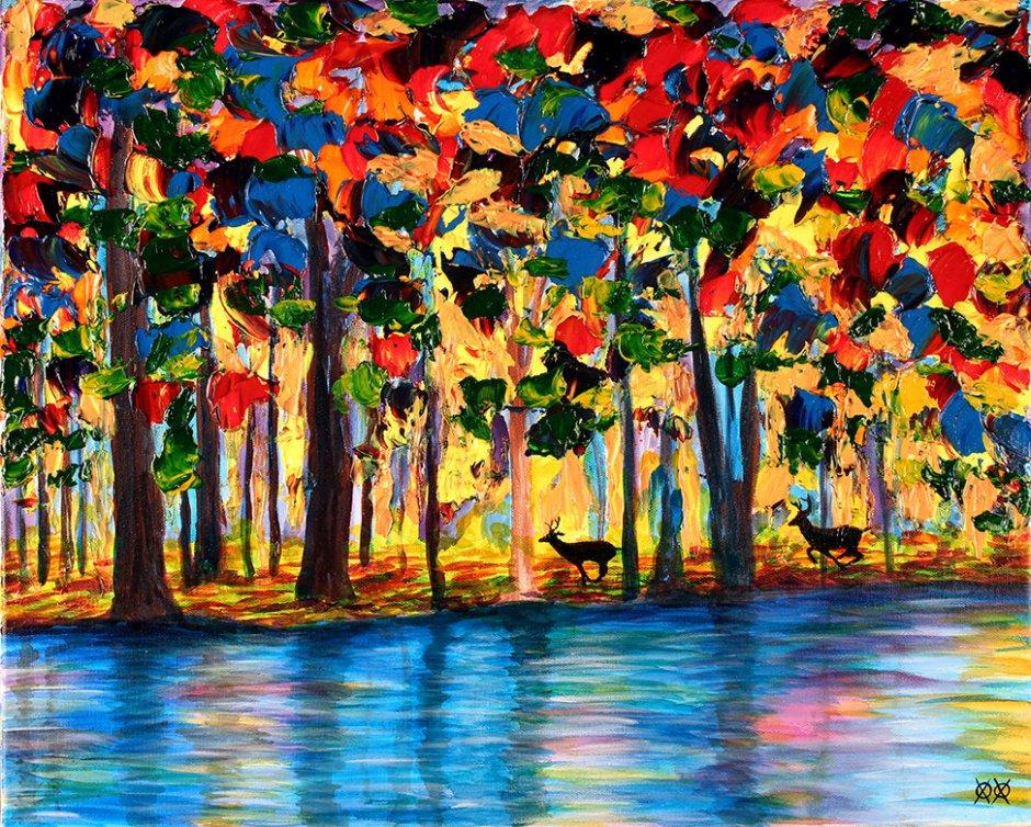 John Bramblitt-blind-artist-Paintings-TheChase