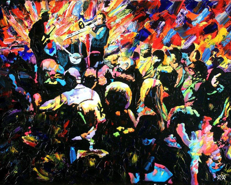 John Bramblitt-blind-artist-Paintings-springjazz