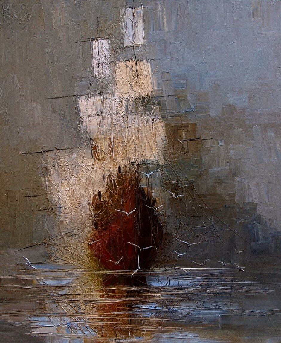Justyna Kopania Paintings Nostalgia