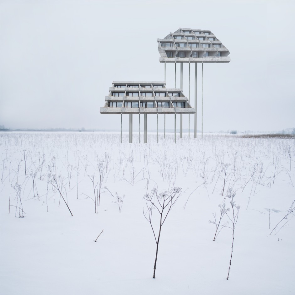 Matthias-Jung-surreal-houses-Kurhaus
