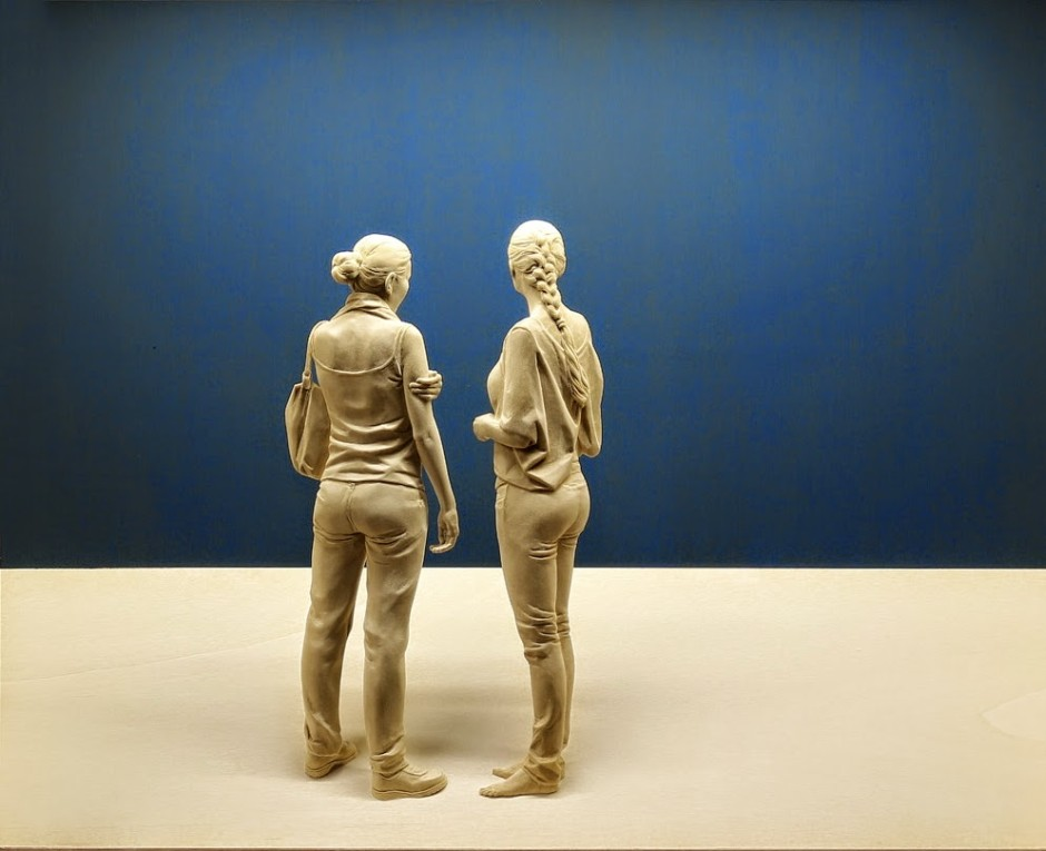 Peter Demetz Human Wood Sculpture 1974