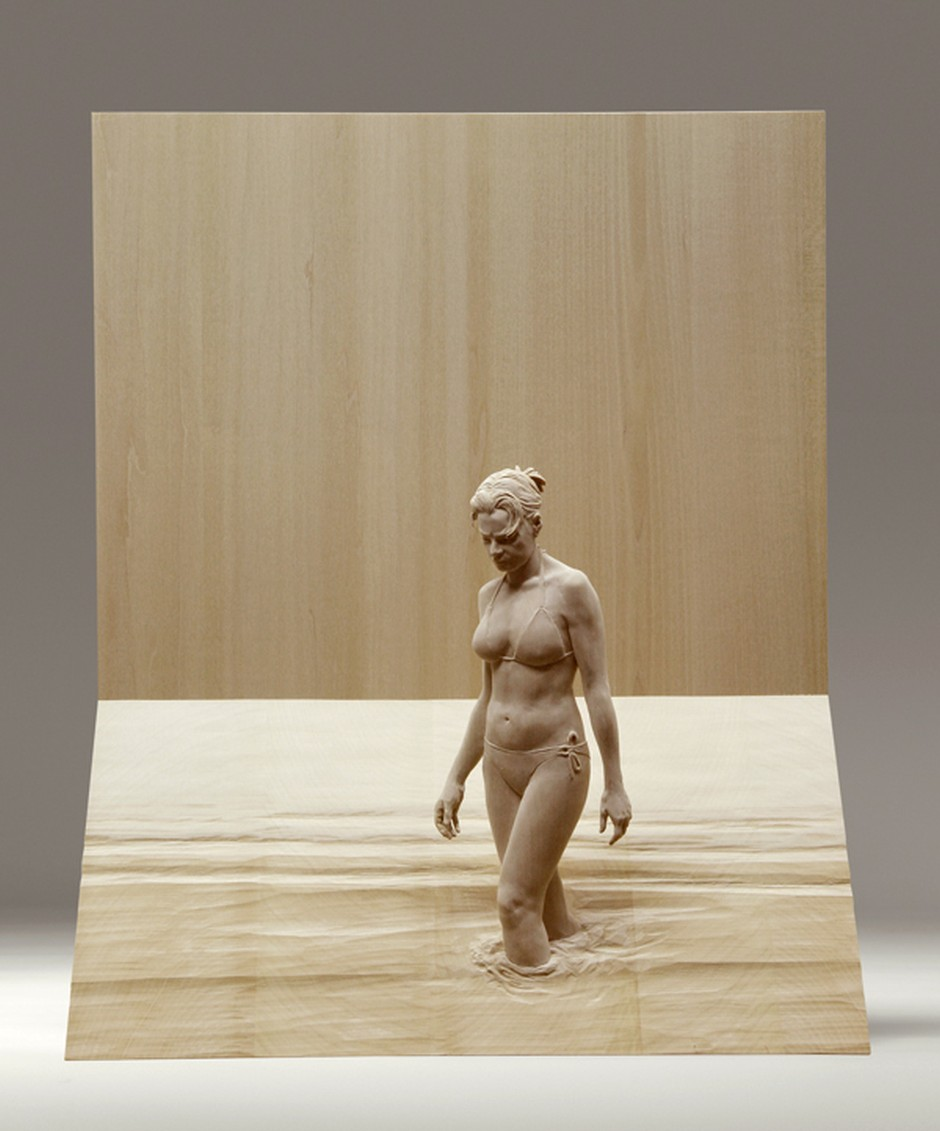 Peter Demetz Human Wood Sculpture 2563-45