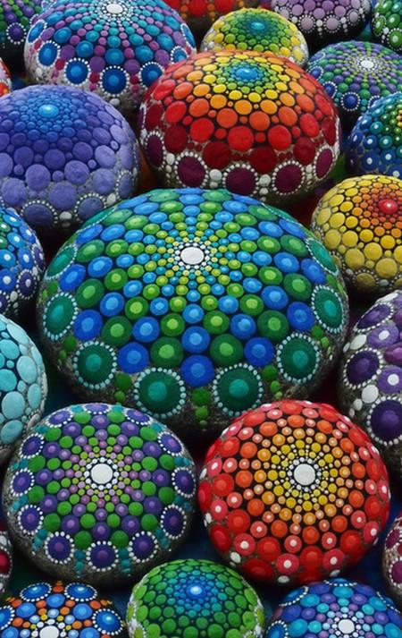 Elspeth McLean Mandala Stones
