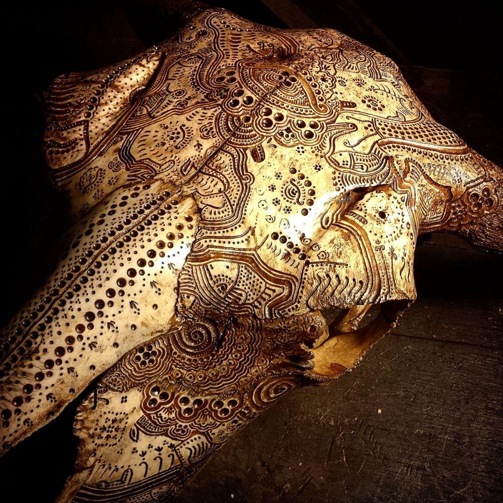 Jason Borders Bones Carvings-buffalo-164738-123