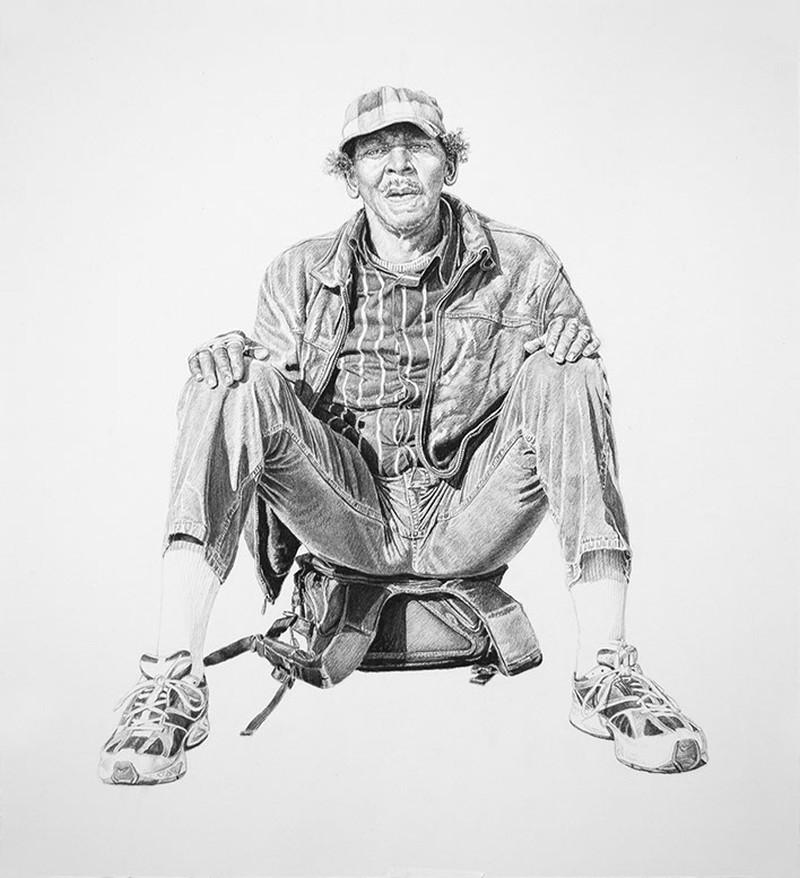 Joel Daniel Phillips - Charcoal Drawings 1254