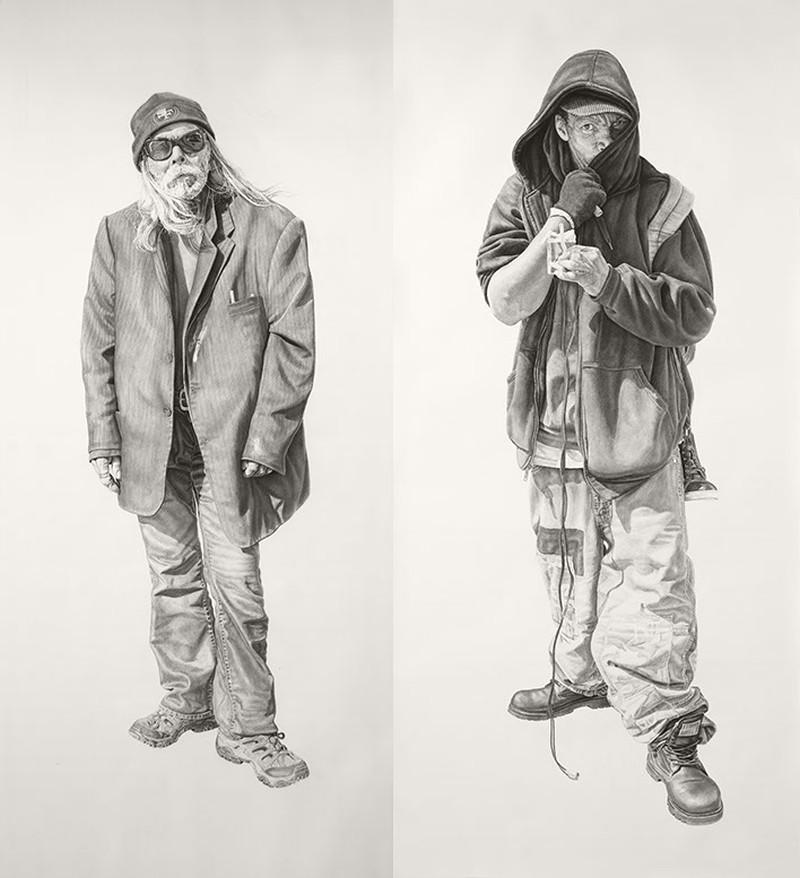 Joel Daniel Phillips - Charcoal Drawings 1426